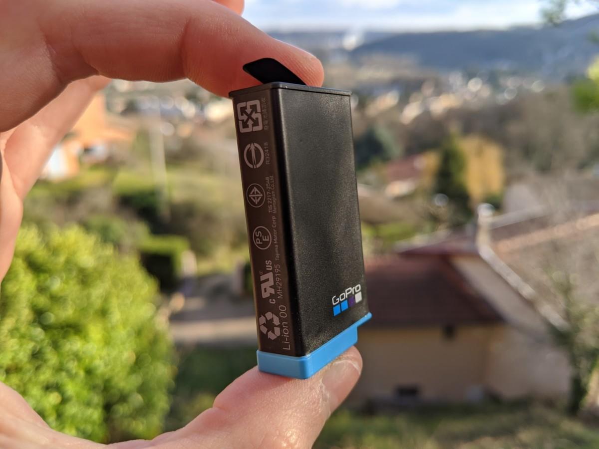 La batterie de la GoPro Max