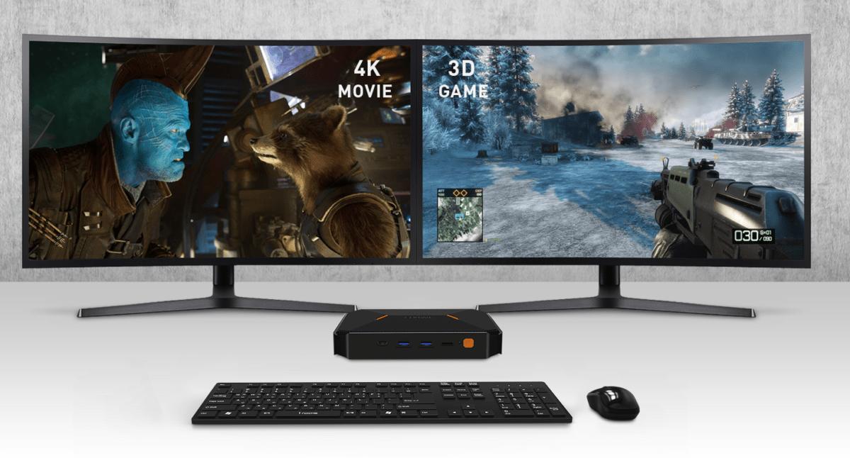 Chuwi Herobox : un mini PC polyvalent avec du Celeron Gemini Lake