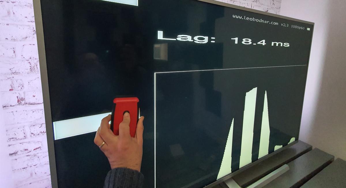 La mesure d'input lag et le rendu en jeu nous rappellent qu'il ne s'agit pas là d'une télé haut de gamme.