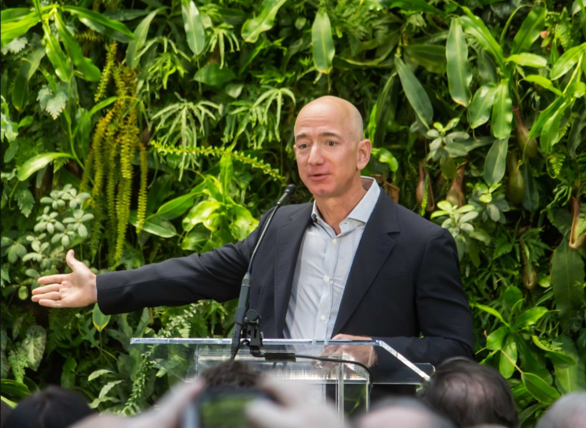 Jeff Bezos en 2018 / Crédit : Wikimedia