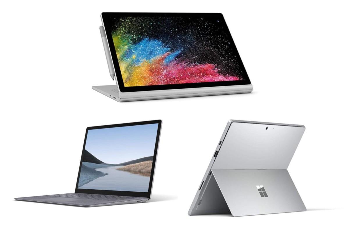Microsoft lance déjà les soldes avec sa gamme Surface en promotion (Pro7, Laptop3 et Book2)
