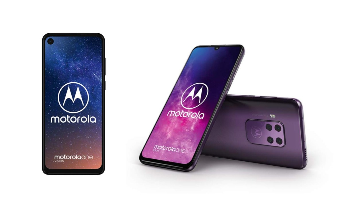Amazon déstocke les smartphones Motorola One Zoom et Motorola One Vision
