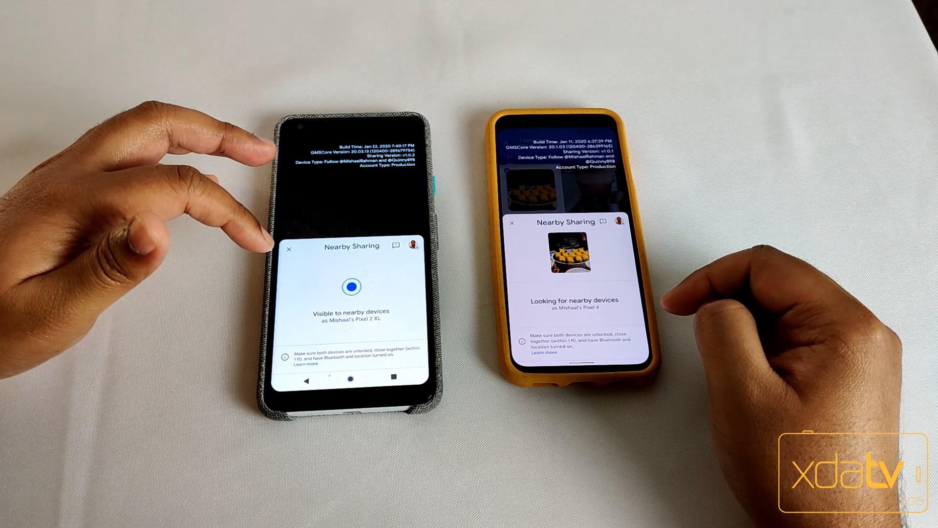 Un clone d'Apple AirDrop pour les Samsung Galaxy — Quick Share