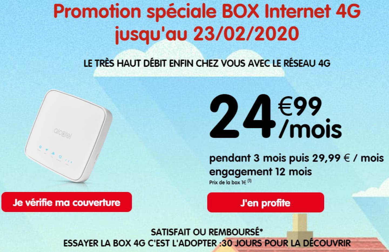 Mieux que l'ADSL, cette box 4G avec 250 Go de data est à 25 euros par mois