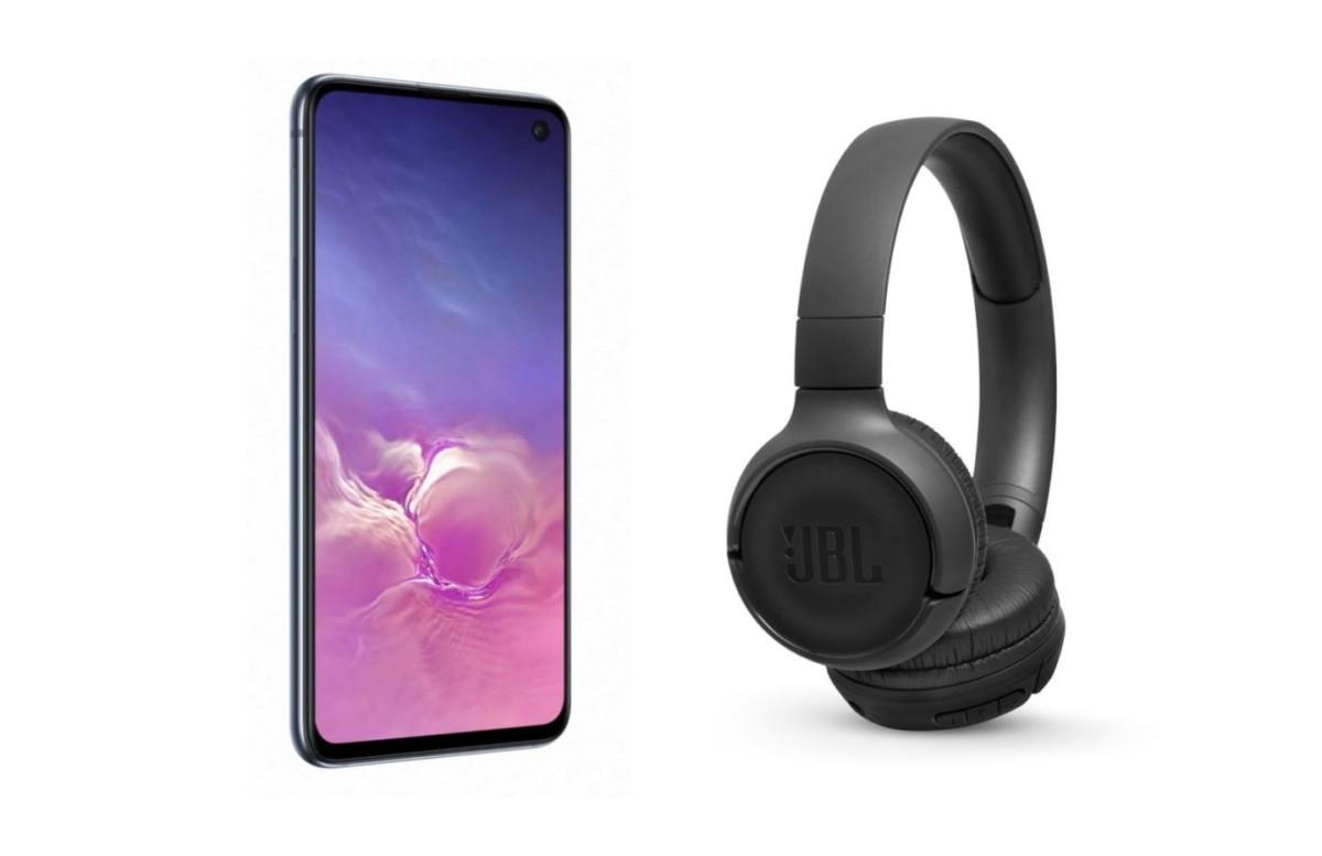 Moins de 500 euros pour le Samsung Galaxy S10e et le casque sans fil JBL T500