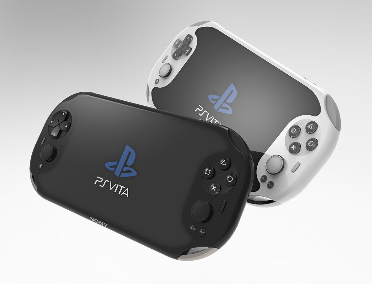 Un concept de console portable Sony. Crédit: Karim Li