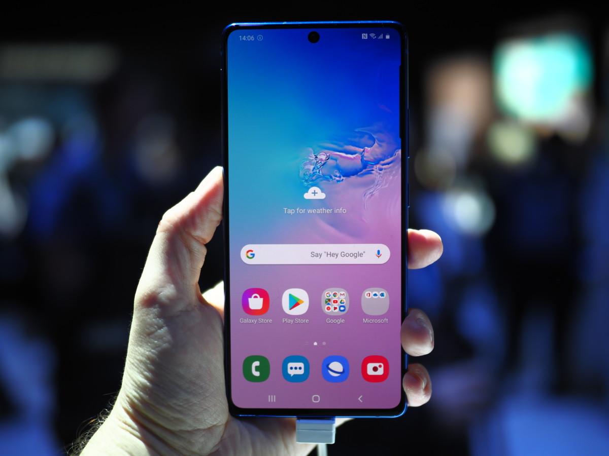 Samsung GalaxyS10 Lite