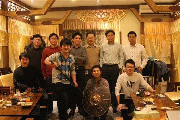 La première réunion d'équipe de Xiaomi dans un salon de thé