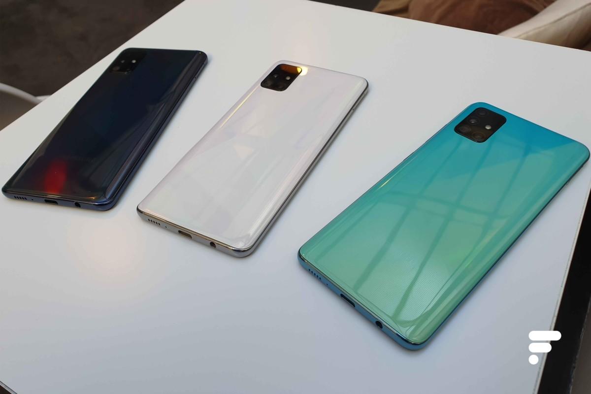 Le Samsung GalaxyA51 se décline en trois coloris