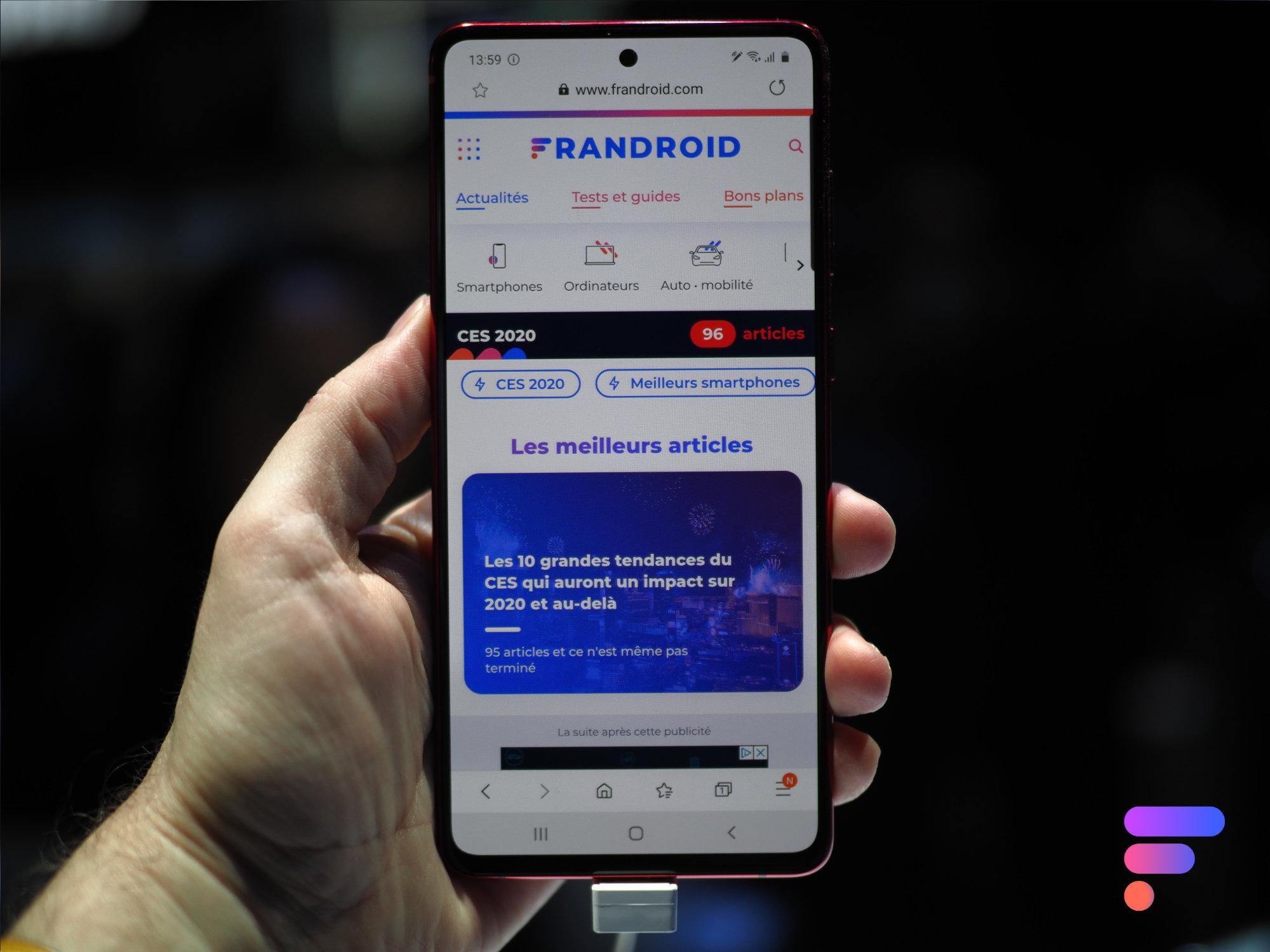 Prise en main du Samsung Galaxy Note 10 Lite : où sont les compromis ?