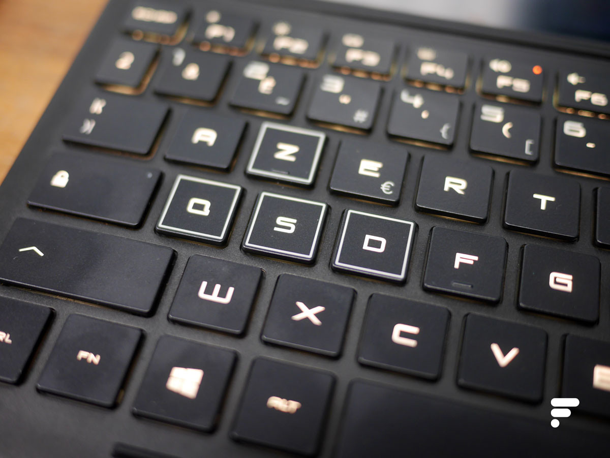 Un clavier gamorz