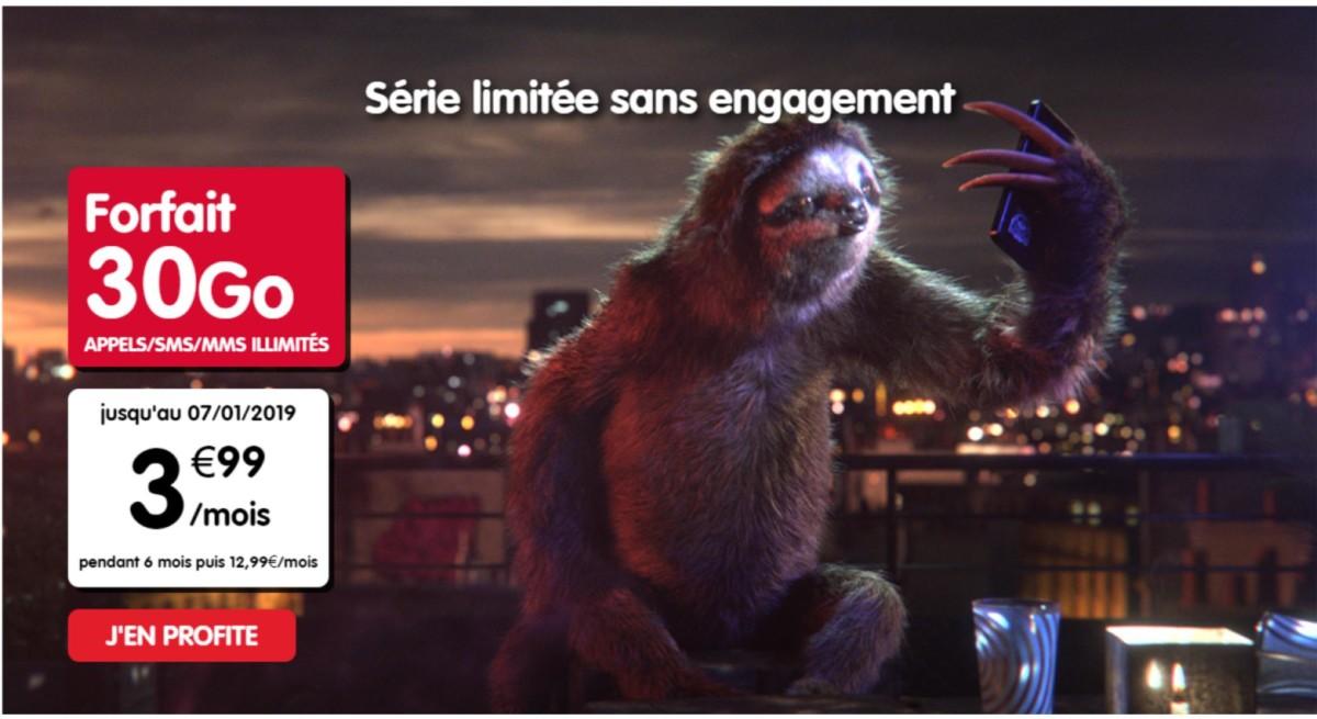 Forfait Mobile : 30 Go pour 3,99 euros chez NRJ Mobile (pendant 6 mois)