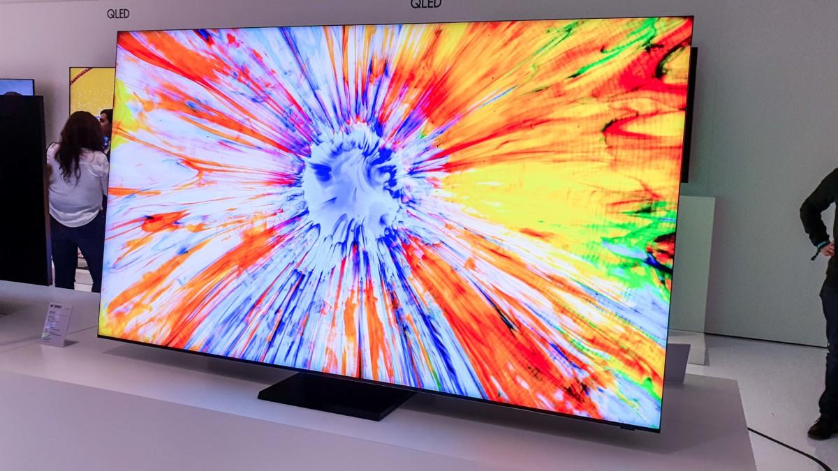 Le nouveau fleuron des téléviseurs8K de Samsung