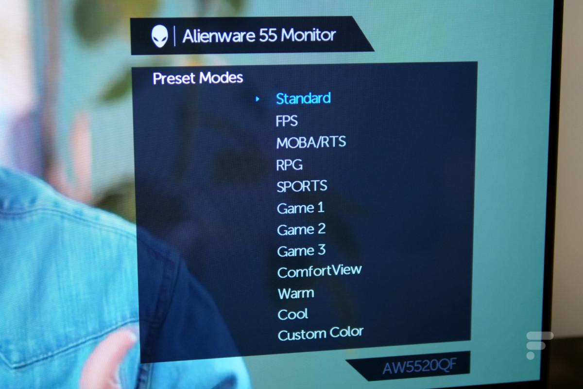 Test du Alienware AW5520QF : OLED, 4K, 120 Hz, et c'est déjà excellent