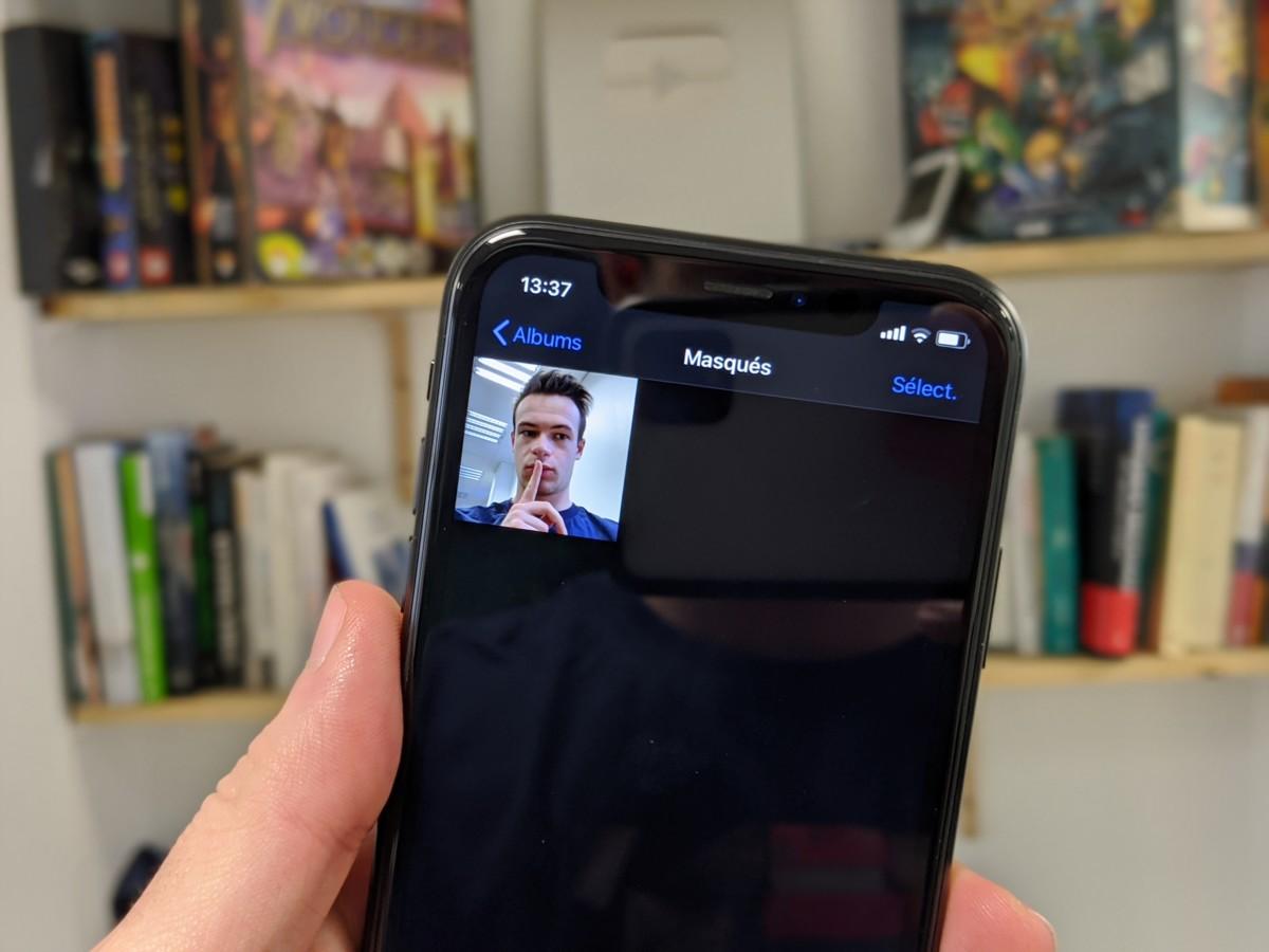 Comment cacher vos photos sous iOS