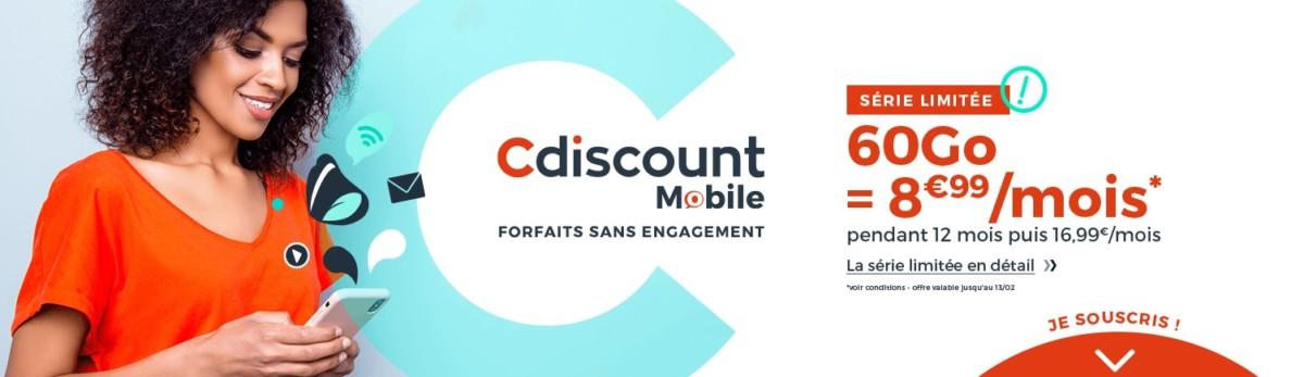 Forfait mobile : les meilleures offres sans engagement via Bouygues, RED et Cdiscount