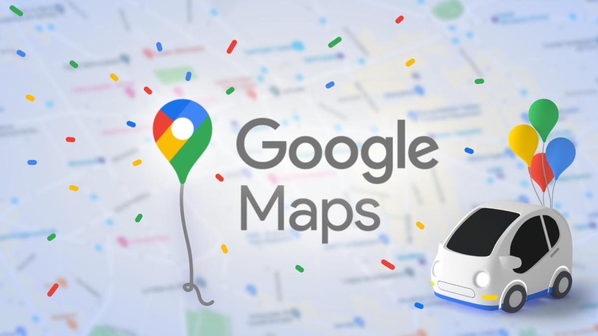 Image créée par Frandroid à partir du nouveau logo de Google Maps