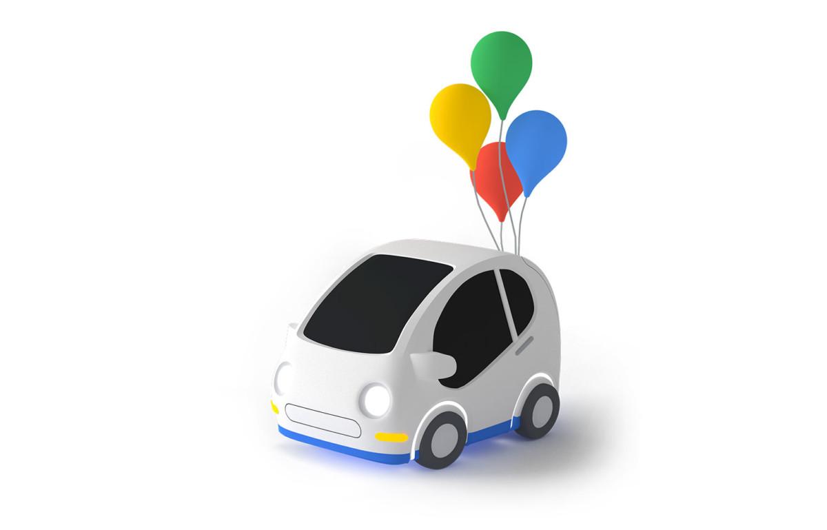 Cherchez cette petite voiture d'anniversaire dans Google Maps
