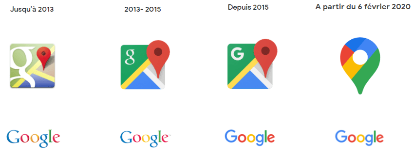 Le logo de Google Maps se débarrasse du planisphère