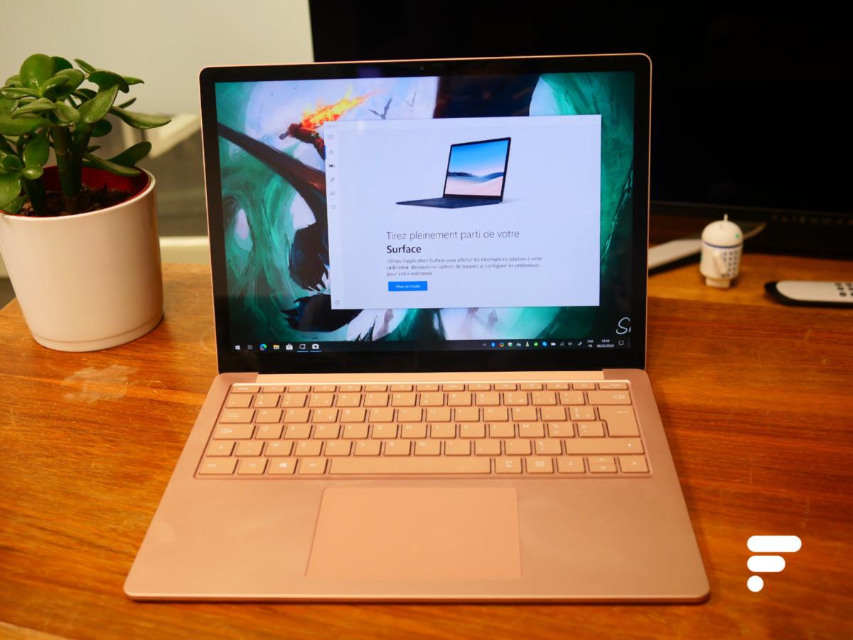 Le Surface Laptop3 est à la fois plus performant et plus moderne