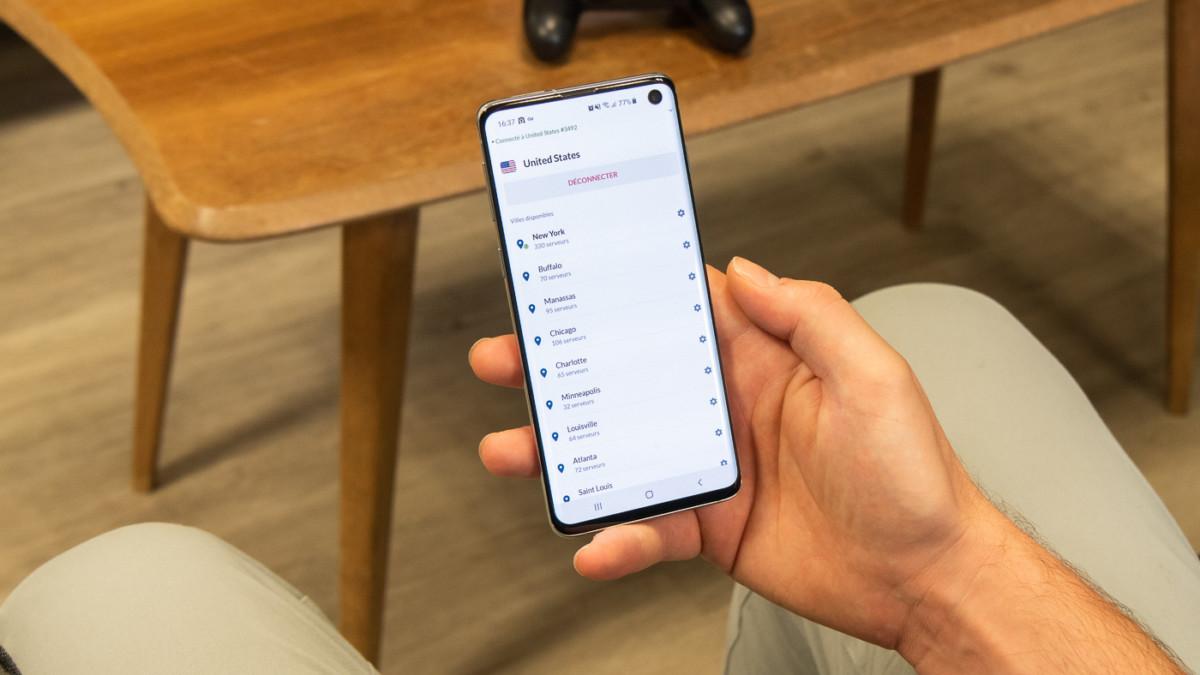 NordVPN dispose d'un grand nombre de serveurs auxquels vous pouvez vous connecter depuis l'application mobile ou desktop.