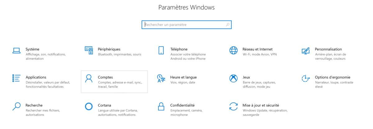 Comment créer un nouvel utilisateur sur Windows 10