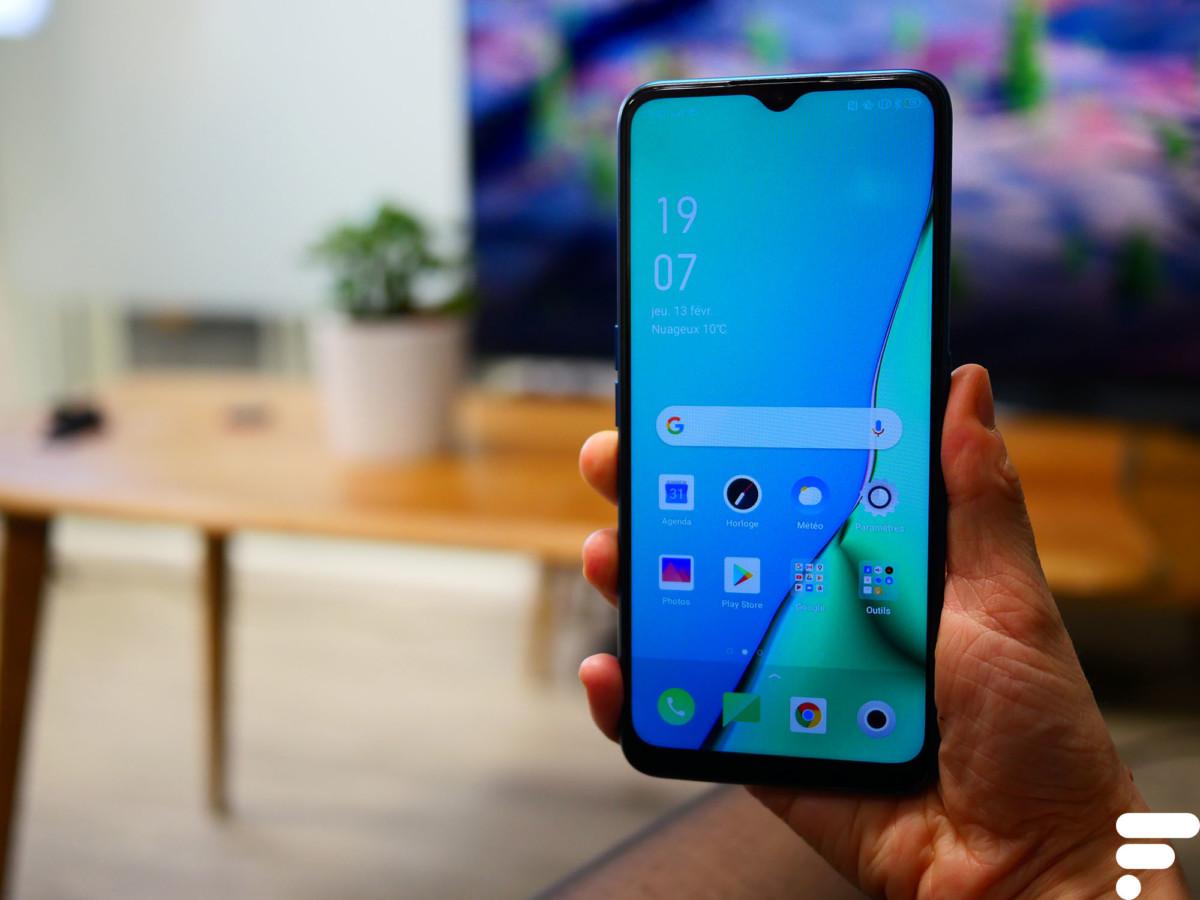 Le design n'a rien d'original, c'est ce que nous avons retrouvé à de nombreuses reprises sur les smartphones de 2019.