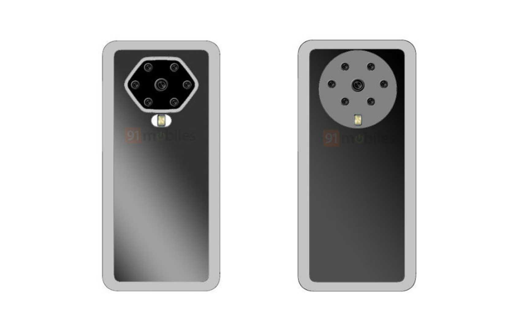 7 capteurs pour un module photo massif : Oppo fait un peu peur avec ce brevet - Frandroid