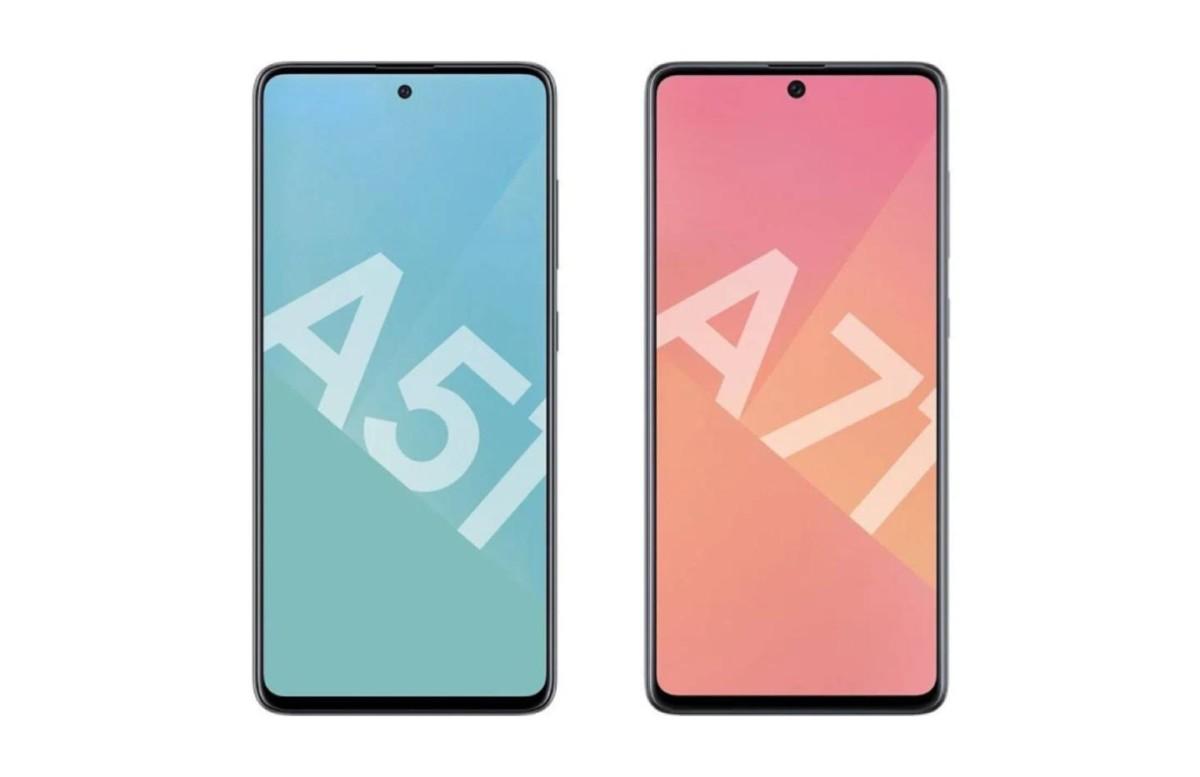 Première baisse de prix pour les nouveaux Samsung Galaxy A51 et Galaxy A71