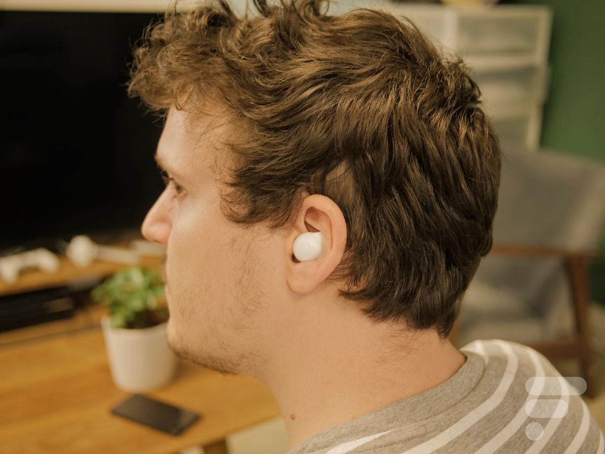 Samsung Galaxy Buds Plus dans l'oreille