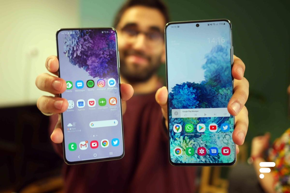 Samsung Galaxy S20 et S20 Ultra