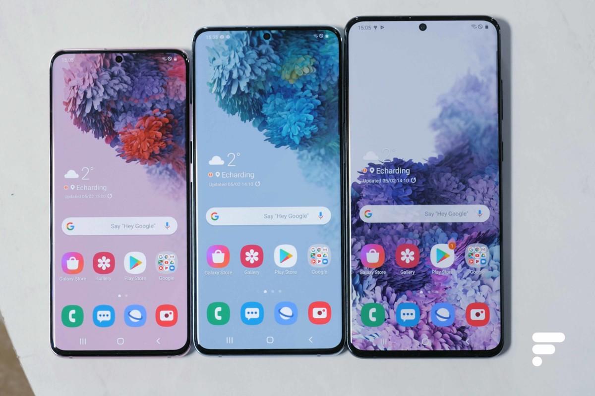 Les Samsung GalaxyS20, S20+ et S20 Ultra