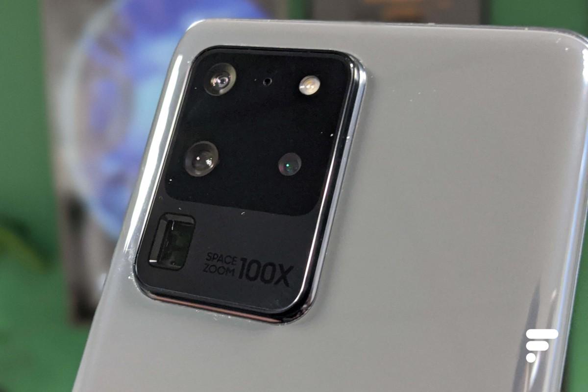 Appareil photo du Samsung Galaxy S20 Ultra