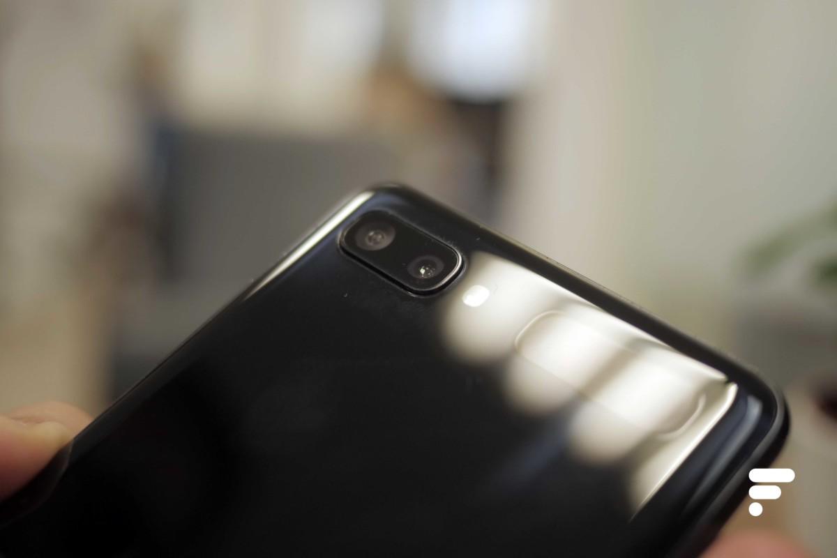 Le double module photo arrière du Galaxy Z Flip