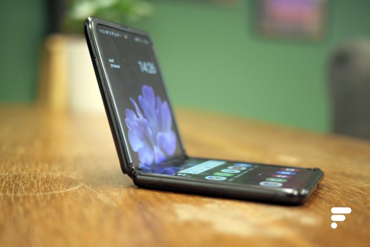 Le Samsung Galaxy Z Flip