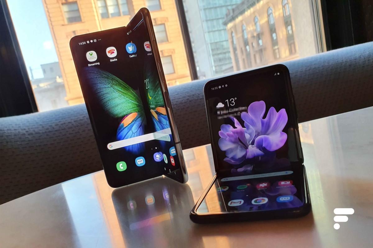 Les Samsung Galaxy Fold et Galaxy Z Flip