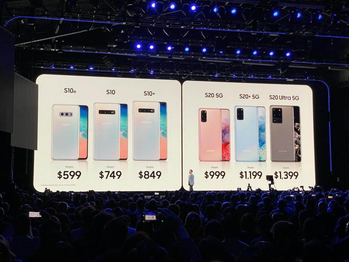 Samsung Galaxy S20 et Galaxy Z Flip : toutes les annonces du Galaxy Unpacked de Samsung