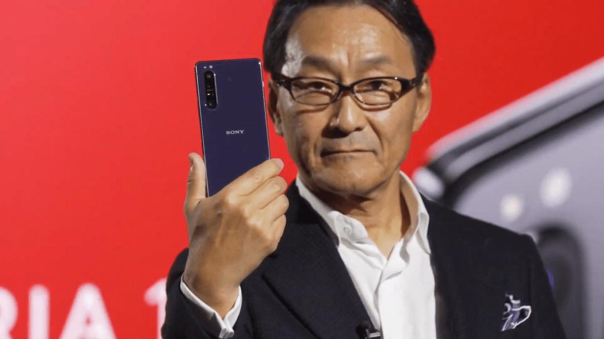 Sony Xperia 1 II MWC 2020 - Mitsuya Kishida