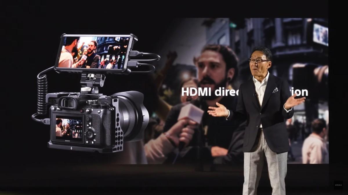 Sony Xperia Pro : un port HDMI le rend VRAIMENT «pro»