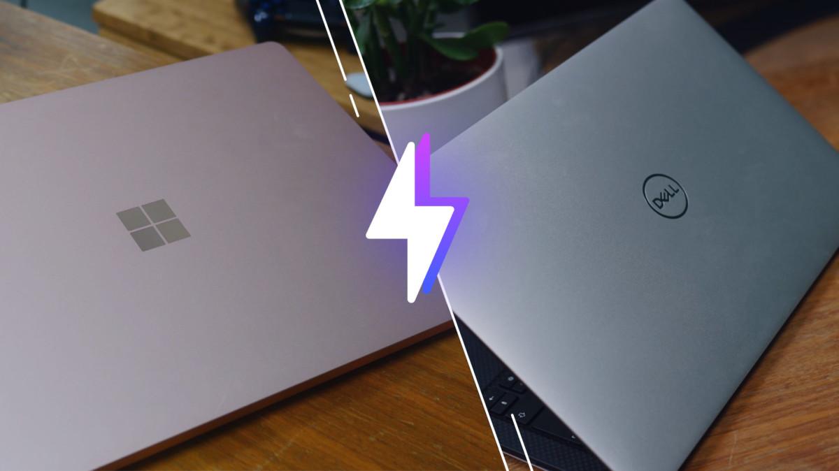 Microsoft Surface Laptop 3 ou Dell XPS 13 : lequel est le meilleur PC portable ?