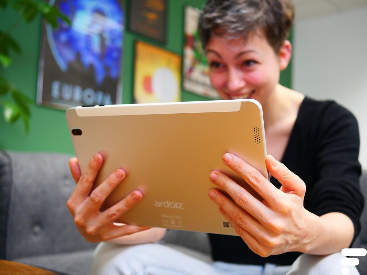 La tablette n'est pas un poids plume!