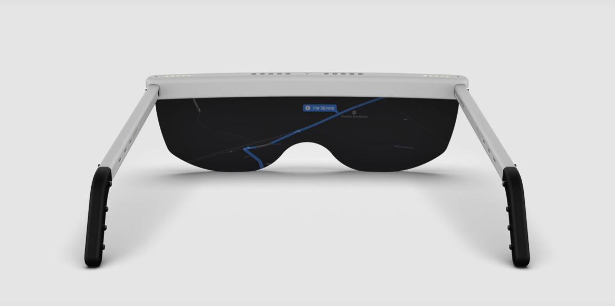 Concept de lunettes AR d'Apple partagé par ZONEofTECH