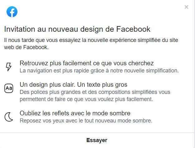 Comment activer le mode sombre sur votre navigateur — Facebook