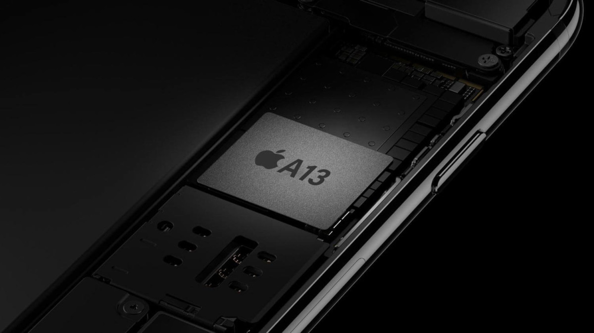 La puce ARM Apple A13 de l'iPhone 11