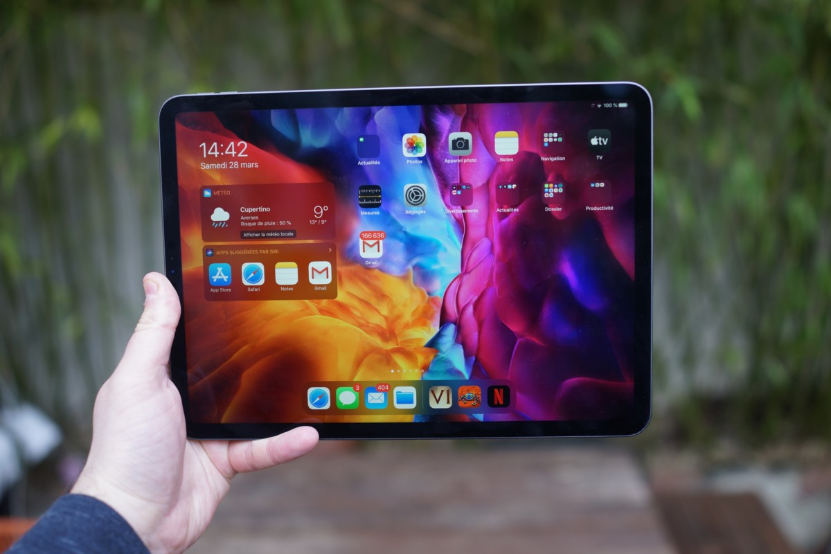 La version 11 pouces de l'Apple iPad Pro 2020