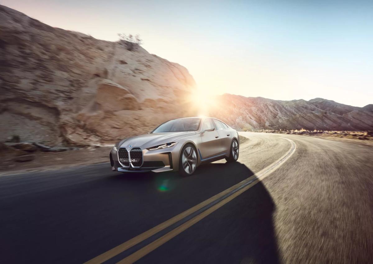 Le concept-car BMW i4