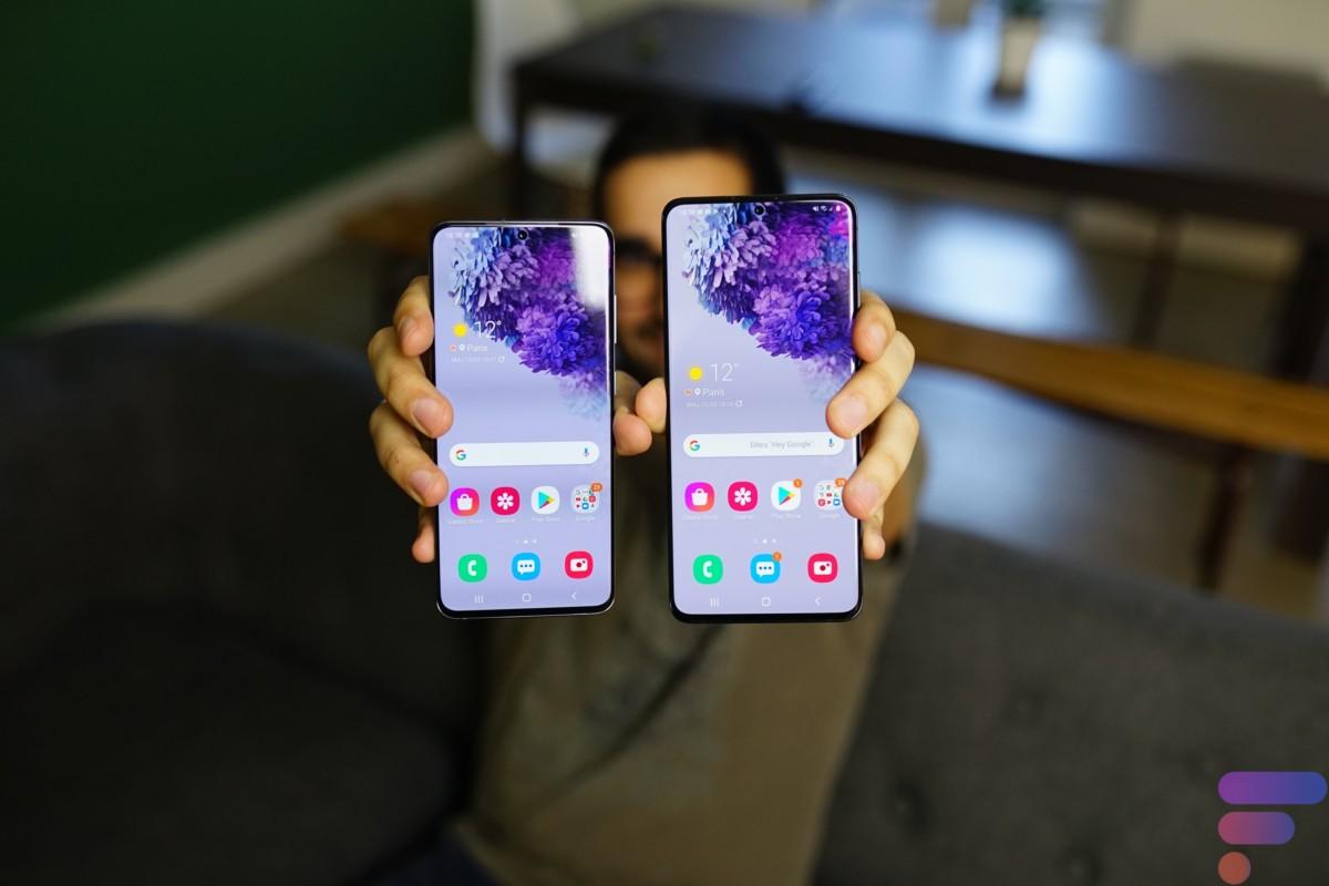 Le Samsung Galaxy S20 Plus profite d'une plus grande batterie que le Galaxy S20