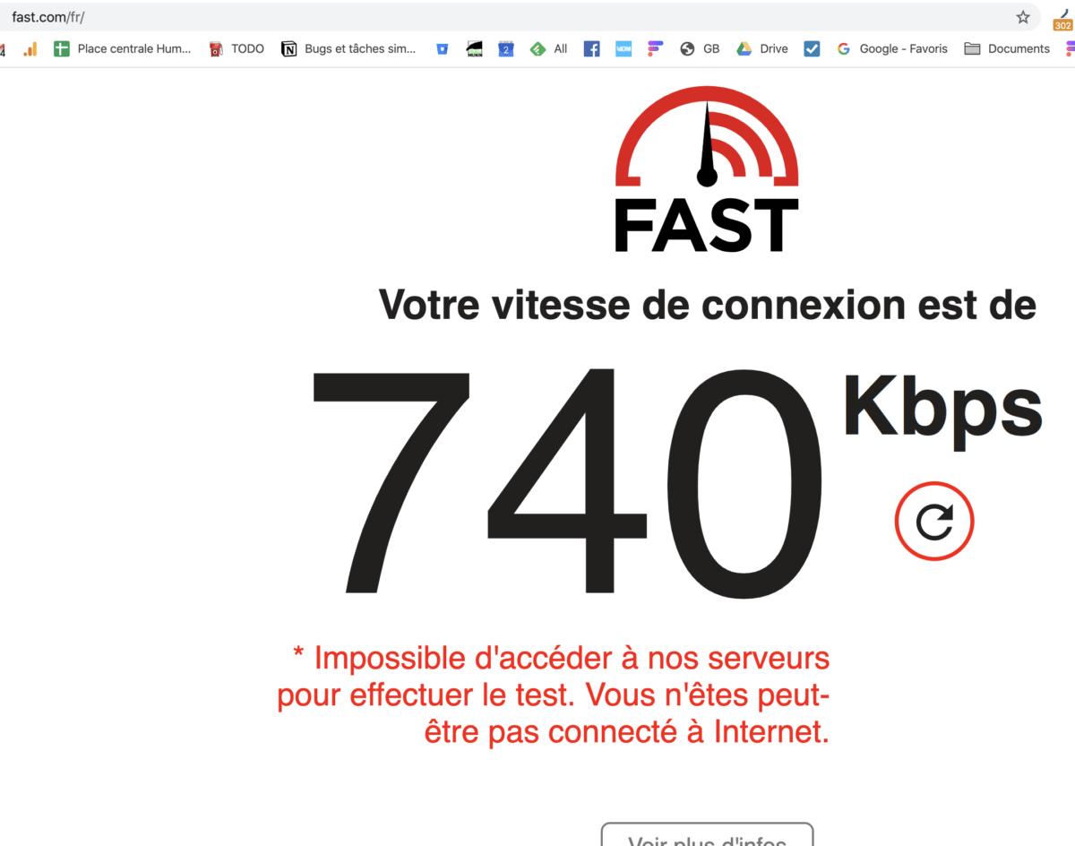 Panne Free: réseau fibre ralenti dans plusieurs régions de France