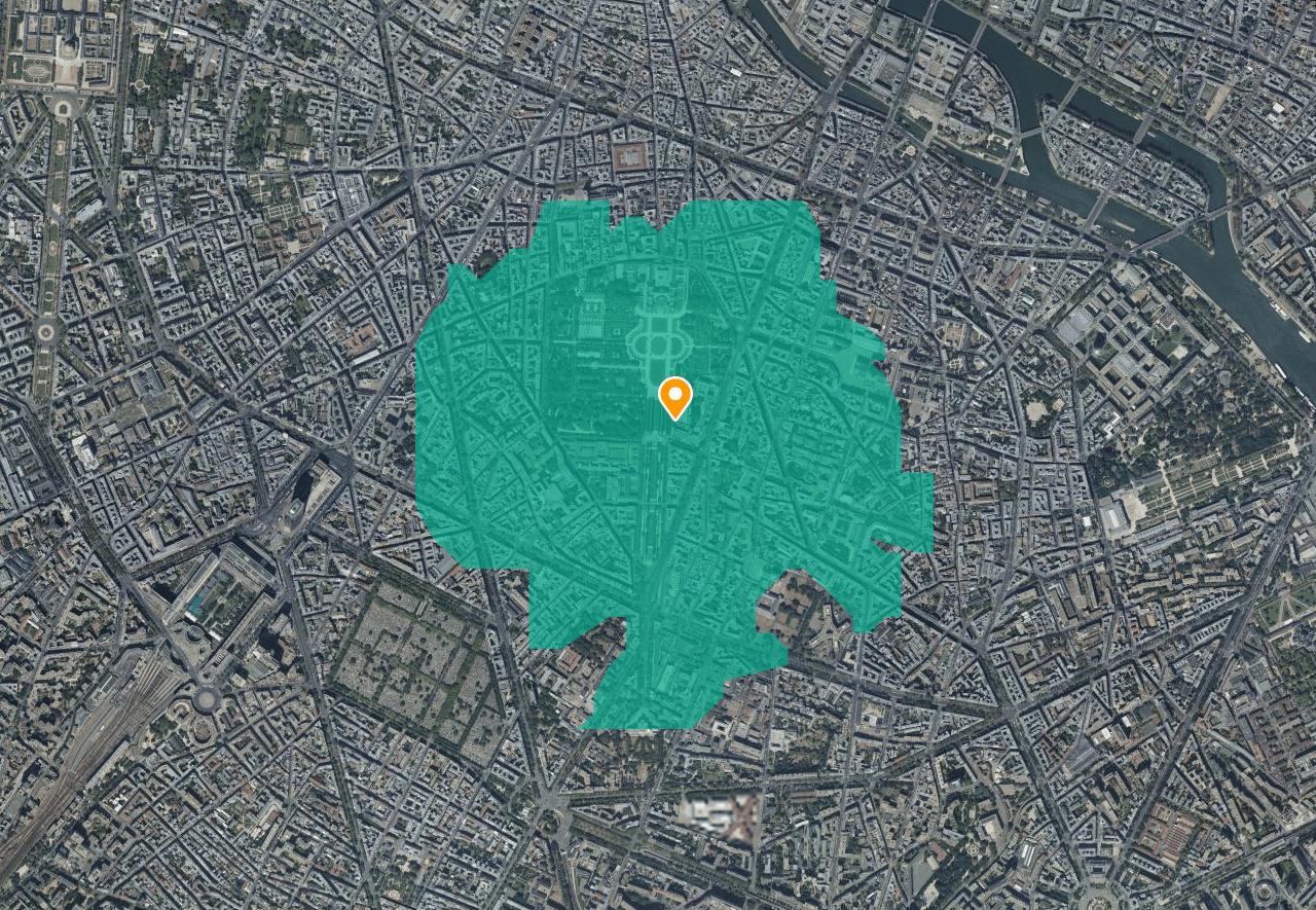 Confinement : avec Geoportail, découvrez la zone de 1km autorisée pour vos sorties à pied