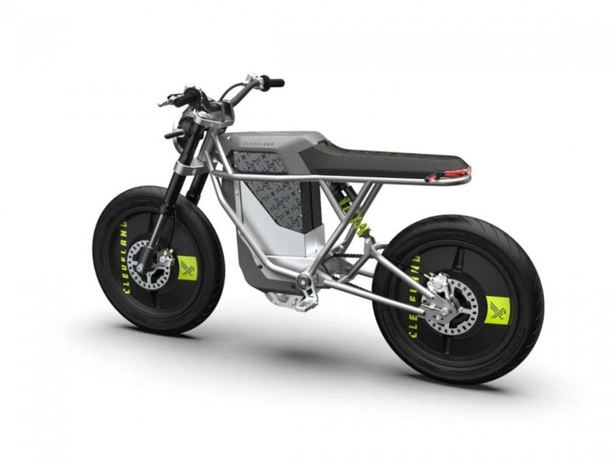 La moto électrique Falcon 01